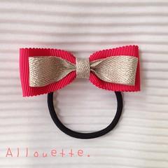 Allouette. (Bernarda Antony) Tags: handmade hairaccessory mokubaribbons