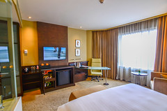 Pullman Grande Deluxe Room (Ashley Monteiro) Tags: tourism thailand grande bangkok pullman hotels accor