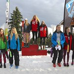 Enquist 2016 Mt. Seymour - Women's Saturday U16 Podium PHOTO CREDIT: Hans Forssander
