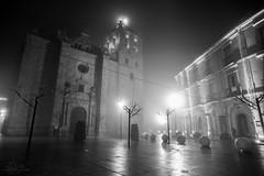 Silent Street (AeroFluxe) Tags: street bw night serena villanueva sal20f28