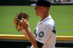 Grip (NJ Baseball) Tags: seattle washington mariners safecofield pregame seattlemariners americanleague 2015 daygame majorleagues mikemontgomery