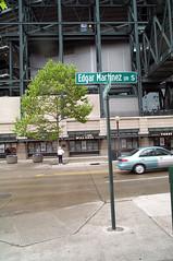 Edgar Martinez Dr S sign 2005 (Seattle Department of Transportation) Tags: seattle street sign drive remember baseball edgar mariners martinez transporation rememberwhen sdot