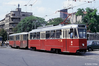 Belgrad 95+168 Trg Slavija, 09.07.1985