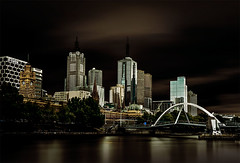 A long look at Melbourne (Leanne Cole) Tags: longexposure skyline architecture river moody photographer photos australia melbourne images victoria environment fineartphotography architecturalphotography yarrariver cityofmelbourne melbourneskyline longexposurephotography environmentalphotography fineartphotographer architecturalphotographer environmentalphotographer leannecole leannecolephotography
