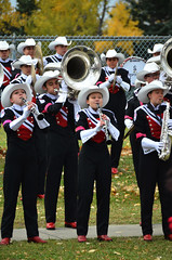 2015 Run for the Cure Showband Playing 2 (pokoroto) Tags: autumn people playing canada calgary for october run alberta cure 10 2015 calgarystampedeshowband showband     kannazuki   themonthwhentherearenogods 27
