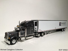 Diecast replica of Knight Refrigerated Peterbilt 379, DCP 30922 (Michael Cereghino (Avsfan118)) Tags: scale truck toy model die semi replica cast 164 knight peterbilt promotions refrigerated diecast dcp 379 30922