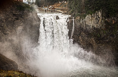 Rattlesnake2016010 (Michael Guio) Tags: mist rain clouds waterfall power damn snoqualmiefalls hydroelectric