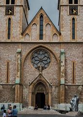 Religious-order_DSC1600 (Mel Gray) Tags: catholic cathedral sarajevo neogothic bosniaherzegovina gothicarchitecture sacredheartcathedral