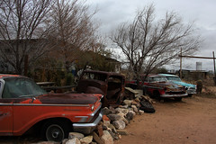 Rusty oldtimers in Hackberry, Route 66, Arizona (sensaos) Tags: old travel arizona usa cars abandoned america us route66 rust decay rusty 66 route forgotten rusted derelict abandonment 2014 oldimer sensaos amserica