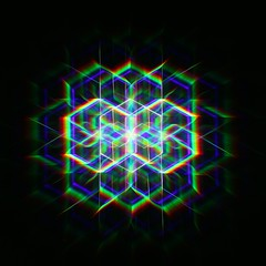 (C Searle) Tags: camera longexposure light lightpainting canon painting crt long exposure hexagon rotation blade grating tool blades diffraction 70d sooc