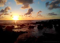 Sunset at the beach (gjaviergutierrezb) Tags: sunset sea sun beach del clouds atardecer mar tenerife unni mesa
