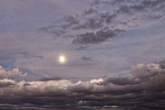 Moon over Casa Grande (Paddrick) Tags: sunset arizona sky panorama paddrick
