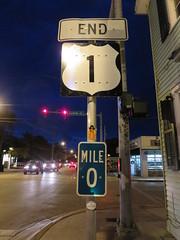 Key West (Venture Minimalists) Tags: keywest floridakeys hwy1 mile0