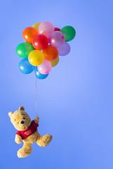 """Week 6/52 Week 5/52 in """"52 weeks: the 2016 edition"""" (isabelle.puaut) Tags: pooh winnie ballons multicolor 52weeksthe2016edition week62016 weekstartingfridayfebruary52016"""