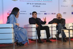 "Sonia Singh of NDTV moderating the Keynote Panel with Amitabh Kant and Sam Pitroda • <a style=""font-size:0.8em;"" href=""http://www.flickr.com/photos/10335921@N04/24503070460/"" target=""_blank"">View on Flickr</a>"