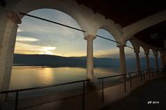 Eremo di Santa Caterina del Sasso (gbistoletti) Tags: italia nuvole tramonti lombardia lagomaggiore leggiuno provinciadivarese