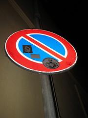 robocop (tonitonim) Tags: sardegna street art sardinia arte stick robocop sardaigne divieto adesivi nuoro sardigna tonim tonitonim