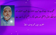Quote by Hazrat Mian Muhammad Yousaf Sarkar (R.A) (Danish1341) Tags: people saint quote holy ahmad sufi allah peer muhammad singh abad yousaf mian hazrat qila sarkar aulia sobha azizia