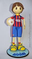 Fofucho FC Barcelona (Mnica Santana) Tags: fcbarcelona fofucho manualidadesengomaeva fofuchagomaeva fofuchoequipodefutbol fofuchofcbarcelona