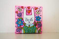 f_rabbit_4 (apolinarias) Tags: rabbit bunny art easter spring etsy