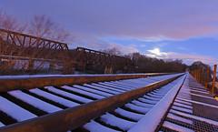 DSC_8637 (FirehawkNS) Tags: bridge snow river nc traintracks tracks northcarolina fullmoon moonrise snowday trainbridge moonshine movingclouds mountholly moonandclouds catawbariver gastoncounty winterinnc