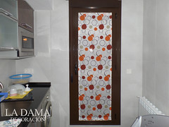 "Visillo para puerta cocina • <a style=""font-size:0.8em;"" href=""http://www.flickr.com/photos/67662386@N08/24753940963/"" target=""_blank"">View on Flickr</a>"