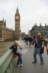 Ashleigh and Craig on Westminster bridge (ec1jack) Tags: uk winter england london westminster tv europe britain bigben doctorwho drwho february filming locations westminsterbridge ststephenstower 2016 kierankelly ec1jack canoneos600d queenelizabethtower