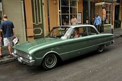 New Orleans - A Classic 1960 Ford Falcon (Drriss & Marrionn) Tags: usa classic ford car louisiana classiccar outdoor neworleans bubbles vehicle oldtimer americancars neworleansla americanclassiccars 1960fordfalcon americanvintagecars neworleanscitytrip