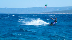 surfing (AnteKante) Tags: blue sea rat meer sailing wind yacht croatia surfing more das sailor horn blau bol brac goldene hrvatska cite dalmacija kroatien surfen cyte dalmatien plavo maestral zlatni vjetar surfanje