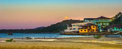 Full moon (Diego S. Mondini) Tags: sea brazil moon brasil landscape mar full fullmoon santacatarina paulas sãofranciscodosul