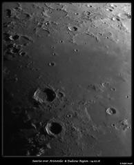 Sunrise Over Aristoteles & Eudoxus 14.02.16 (Ralph Smyth) Tags: mare aristoteles eudoxus