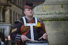 drummer (Mal Urwin) Tags: kilt takumar bagpipes manualfocus scotish newcastleupontyne