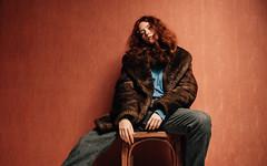 Dasha red (Peter Pushkin) Tags: portrait girl 35mm studio photographer dasha   peterpushkin