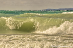 Lake Michigan ... layers of light (Ken Scott) Tags: winter usa michigan wave blow lakemichigan greatlakes february breaker freshwater voted leelanau 2016 manitouisland 45thparallel fhdr sbdnl sleepingbeardunenationallakeshore mostbeautifulplaceinamerica