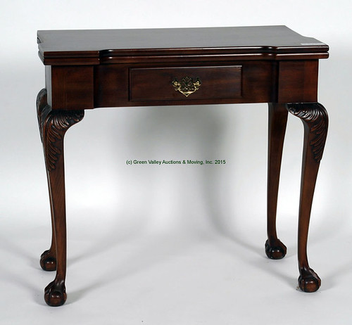 Statton 1 Drawer Card Table $357.50 - 9/11/15