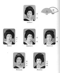 Kamogawa Odori 1965 010 (cdowney086) Tags: geiko geisha  1960s pontocho onoe   kamogawaodori  ichiharu mameharu hisafumi mamezuru hidemame mameai