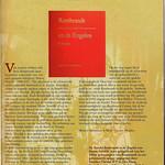 Pagina uit het programmaboek van 'Rembrandt' thumbnail