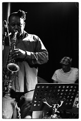 Louis Moholo-Moholo's Five Blokes @ Vortex Jazz Club, London, 16th March 2016 (fabiolug) Tags: leica blackandwhite bw music vortex london monochrome zeiss 50mm blackwhite concert live gig livemusic performance jazz rangefinder monochrom sax saxophone johnedwards biancoenero dalston sonnar freejazz leicam zeisssonnar 50mmf15 jasonyarde alexanderhawkins fiveblokes louismoholo vortexjazzclub sonnar50mm fourblokes shabakahutchings zeisscsonnar louismoholomoholo zeisszm50mmf15csonnar mmonochrom leicammonochrom leicamonochrom zeisscsonnartf1550mmzm vortexjazz