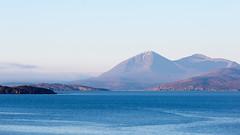Blue Morning (AnnieMacD) Tags: mountains skye scotland westerross cuillin mhor applecross dearg beinn beinnnacaillich innersound crowlin ardbain