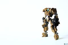 Drone - DK3 (Devid VII) Tags: terrain trooper detail mobile war lego military details mini assault troopers suit walker crew marines wars vii mecha mech moc drone reframe devid foitsop devidvii dkt7 lusim