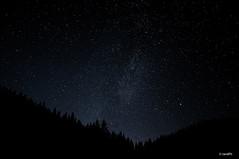 Milky Way - Asiago VI 2015 (randPh) Tags: travel sky black mountains nature stars landscape photographer profile hills astronomy universe asiago milkyway