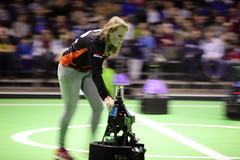 Technical Assistance (Elios.k) Tags: people motion blur color colour broken sports girl field horizontal out walking one robot football student team movement focus university many soccer crowd thenetherlands competition eindhoven robots indoors april change match spectators panning assistance participant aveiro tue pushing evoluon robocup 2016 cambada technischeuniversiteiteindhoven backgroundblur universidadedeaveiro middlesizeleague futebolrobótico techunited roundrobin2 robocup2016 europeanopen2016 techicaluniversity roboticfootball