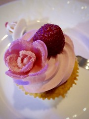 This always cheers you up (annelaurem) Tags: pink food rose dessert cupcake raspberry