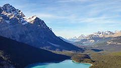 Peyto Lake from Bow Summit (weber_sd) Tags: ca canada mountains bc alberta banffnationalpark peytolake icefieldsparkway canadianrockies 2015 bowsummit improvementdistrictno9