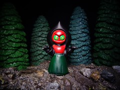 Flatwoods Monster (ridureyu1) Tags: toy toys actionfigure cryptozoology cryptid toyphotography ufosighting jfigure flatwoodsmonster sonycybershotsonycybershotdscw690