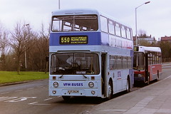 VFM BUSES (NORTHERN) 3462 AUP362W (bobbyblack51) Tags: bus buses station all transport 1995 northern heworth roe types leyland vfm atlantean 3462 of aup362w