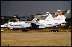 CCCP-76452 - Moscow Zhukovsky (ZHU) 17.08.2001 (Jakob_DK) Tags: 2001 zia uubw moscow moscowzhukovsky ilyushin ilyushin76 ilyushin76976 il76 il76976 candid cargo gromov gromovflightresearchinstitute