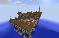 Little Oresund (Wyrmworld) Tags: denmark creative danish viking oilrig oresund minecraft minnasundberg standstillstaysilent