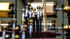 Galvanikanlage zur Vergoldung und Versilberung von Garn. (seyf\ART) Tags: old museum technik holz metall industrie geschichte maschinen nahaufnahmen fden