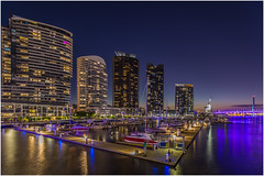 The high life (RissaJT_23) Tags: city nightphotography water night canon boats lights apartments photographer rich australia melbourne nighttime highrise luxury manfrotto boltebridge yarrariver canon1740mm southwharf canon6d canoneos6d